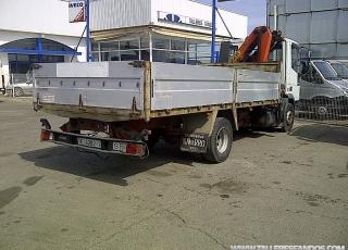Camión IVECO Eurocargo ML120EL18 con caja fija y pluma Palfinger PK 7000.  Medidas del vehiculo (7.6x2.37x2.9m)