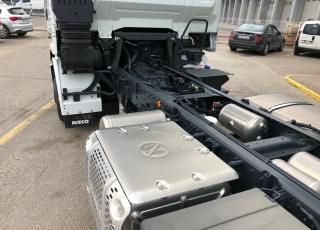 Nuevo IVECO AS260S46Y/FS HW CM automática, con intarder, E6, suspensión neumática integral, 3 eje elevable y direccional, con predisposición de enganche trasero.