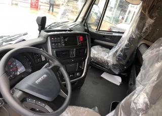 Nuevo IVECO AS260S46Y/PS HW EVO automática, con intarder, E6,  ADR, suspensión neumática en ejes traseros, 3 eje elevable y direccional, con enganche trasero, neumáticos 315/80R22.5.
