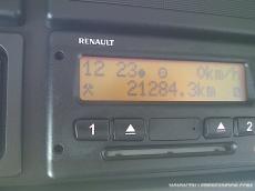 Camión Renault Lander 320.26, 6x4, con grua Fassi F325, del año 2011, con caja basculante.