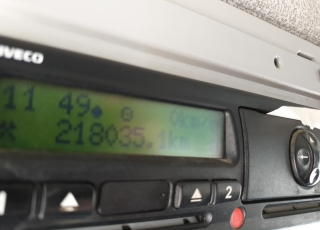 Dumper de ocasión IVECO Trakker AD410T45W, automatico con intarder, 8x8, del año 2007 con 218.028km.