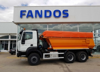 New Tipper Truck IVECO ASTRA HD9 64.45, 6x4 of 450cv, Euro 6 with manual gearbox.