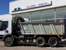 Dumper IVECO AD380T38, 6x4, del año 2006