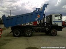 Camión usado marca MAN 26.372, 6x6, manual, del año 1991, 266.327km.