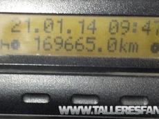 Tipper truck Renault Kerax, 420.34, 6x4, year 2003, with 169.665km, box Meiller Kipper.