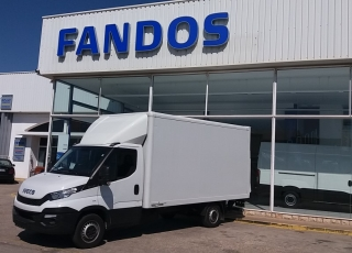 Used Van IVECO 35S15 with closed box, year 2016, with 100.082km