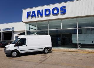 Furgoneta Ford Transit, del año 2009 con 131.918km.