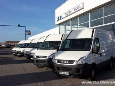 Lote de furgones de ocasión IVECO Daily 35S13V de 12m3, del año 2011, con menos de  90.000km