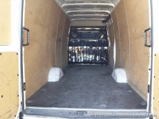 Used Van IVECO Daily 35S13V of 15m3, year 2012, with 81.740km.