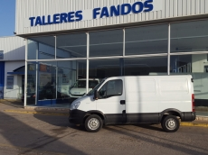 Used Van IVECO Daily 35S13V of 7m3, year 2013 with 171.500km.
