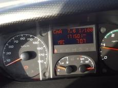 Furgoneta IVECO Daily 35S13V de 7m3, del año 2013 con 171.500km, con  un año de garantía de cadena cinemática.