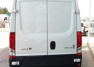 Used Van IVECO Daily 35S15V of 16m3, year 2015, with 131.082km.
