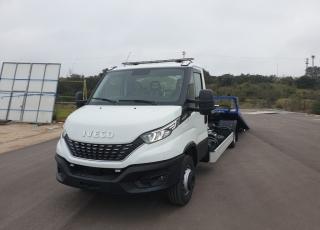 Disponemos de furgonetas nuevas IVECO 70C18H 3.0 de 7.2Tn, para poder carrozar como grúa plataforma portacoches.