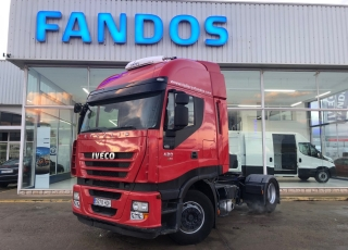 Tractor head IVECO AS440S42TP automatic with retarder, year 2011, with 851.942km.