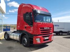 Cabeza tractora IVECO AS440S42TP, con motor ecostralis, automática con intarder, del año 2012, con 505.200km, con 12 meses de garantía de cadena cinemática.