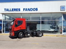 Tractor head IVECO AS440S42TP Hi Way, automatic with retarder, year 2013, with 277.455km.