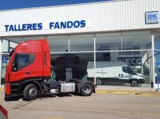 Cabeza tractora IVECO AS440S42TP, Hi Way, automática con intarder, del año 2013, con 535.524km, con garantía de cadena cinemática. Precio sin impuestos.