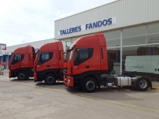Tractor heads IVECO AS440S42TP, Hi Way, automatics with retarder, year 2013.