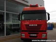 Cabeza tractora IVECO AS440S45TP, automática con intarder, del año 2011, con 430.278km, con 12 meses de garantía de cadena cinemática.