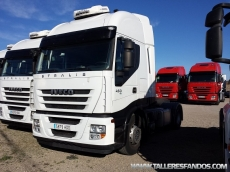 Tractor head IVECO AS440S45TP, automatic with retarder, year 2011, with 469.321km.