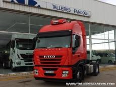 Cabeza tractora IVECO AS440S45TP, automática con intarder, del año 2011, con 418.327km, con 12 meses de garantía de cadena cinemática.