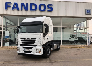 Tractor head IVECO AS440S46TP automatic with retarder, year 2013, only 435.594km.