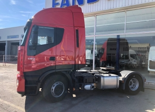 Tractor head IVECO AS440S46TP automatic with retarder, year 2013, only 491.145km.