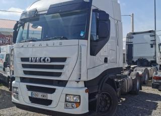 Cabeza tractora IVECO AS440S46TP, CUBE, automática con intarder, del año 2012, con 948.400km