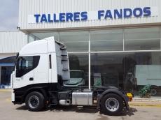 Cabeza tractora IVECO AS440S46TP, automática con intarder, del año 2012, con 403.000km, con 12 meses de garantía de cadena cinemática.