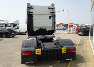 Cabeza tractora IVECO AS440S48TP,  EVO Hi Way,  Euro6,  Automática con intarder,  Del año 2017,  Con 352.110km. Neumáticos 315/70R22.5  Precio 42.500€+IVA, con tractora reacondicionada y con 12 meses de garantía de cadena cinemática.