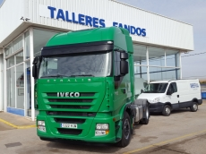 Tractor head IVECO AS440S50TP, automatic with retarder, year 2012, with 44.929km. Complete ADR.