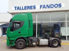Cabeza tractora IVECO AS440S50TP, automática con intarder, del año 2012, con 425.710km, con ADR COMPLETO, con 12 meses de garantía de cadena cinemática.