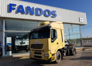 Tractor head IVECO STRALIS AS440S50TP, manual with intarder, 1.272.223km, year 2007.