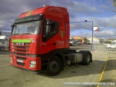 Tractor unit IVECO AS440S50TP, automatic with retarder, Euro 5, year 2010. Only 334.750km