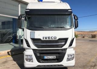 Cabeza tractora  Marca IVECO  Modelo AS440S51TP EVO MY16, Hi Way, Cambio automática con intarder,  Año 2017,  Con 476.013km.