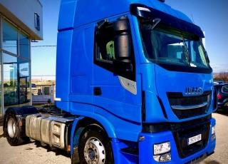 Cabeza tractora  Marca IVECO  Modelo AS440S51TP EVO MY16, Hi Way, Cambio automática con intarder,  Año 2017,  Con 428.000km.