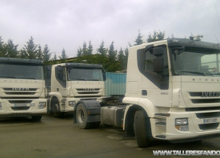 11 Tractoras IVECO AT440S36TP, Euro 5, Eurotronic con intarder.