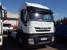 Tractor head IVECO AT440S42TP, 4x2, manual with retarder, hydralic equip, 576.437km, year 2011.
