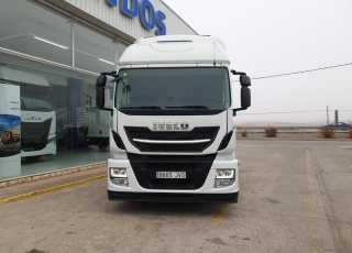 Cabeza tractora IVECO  Modelo AT440S46TP  Hi Road EVO Euro6,  Automática con intarder,  Del año 2017,  494.195km.