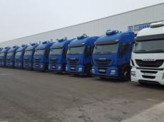 CabezaS tractoras IVECO Hi Way AS440S46T/P, automáticas con intarder, del año 2013, entre 200.000km y 350.000km, con 12 meses de garantía de cadena cinemática.