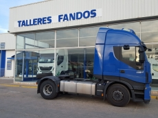 Tractor head IVECO Hi Way AS440S46T/P EEV, automatic with retarder, year 2013, with 313.130km.
