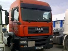 Cabeza tractora ocasión marca MAN TG 410 A, manual con retarder.
