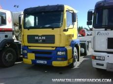 Cabeza tractora ocasión marca MAN TG410A, manual con retarder.