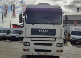 Cabeza tractora MAN TGA 18.480, automática con intarder, del año 2007, con 1.332.680km
