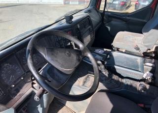 Cabeza tractora de ocasión marca Renault 340.18T, manual con equipo hidráulico,  año 1999.