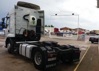 Cabeza tractora de ocasión marca Renault Premiun 450 DXI, automática con 1.289.646km.