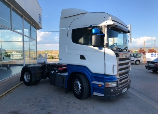 Tractor head Scania R470 opticruise with retarder and hydraulic equip, year 2006, 1.118.682km.