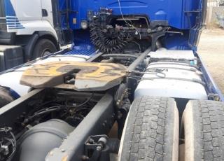 Cabeza tractora de ocasión  marca Scania  modelo R500,  opticruise con intarder,  año 2011,  1.165.000km.