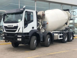 Mixer truck IVECO X-WAY AD340X40Z HR OFF