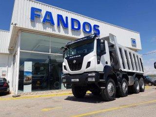 Tipper truck Astra HD9 86.50 Euro 6 8x6 Cantoni 20m3